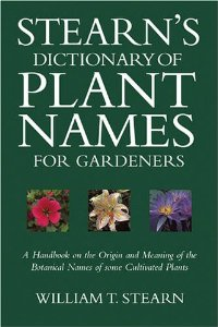 Stern's Dictionay of Plant Names